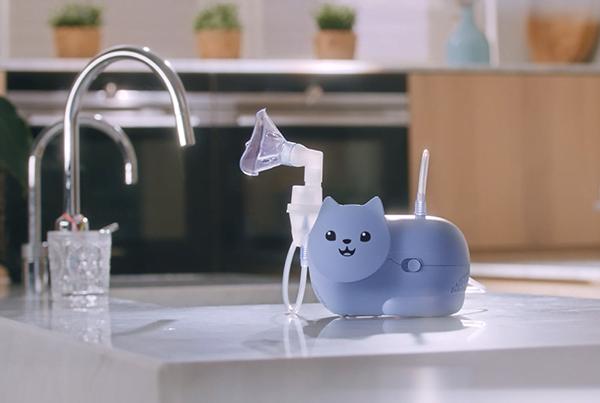 Noul nebulizator pentru copii Nami Cat de la Omron