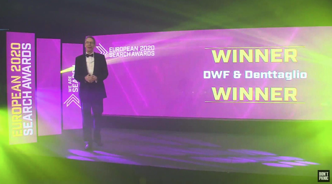 DWF & Denttaglio – Premiu pentru cea mai bună campanie SEO din Europa în domeniul sănătății